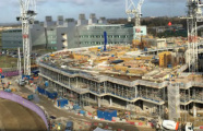 AstraZeneca Global R&D Building - topping out